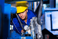 Young industrial operator Stock Photo