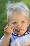 Young infant Stock Photography