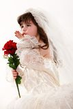 Young innocent 4 year old toddler Royalty Free Stock Images