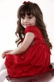 Young innocent 4-yr old toddler Stock Image