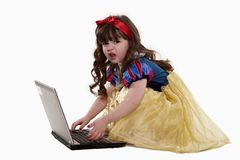 Young innocent 4-yr old toddler Royalty Free Stock Photos