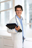 Young intern in medicine Royalty Free Stock Photo