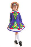 Young Irish dancer Royalty Free Stock Images