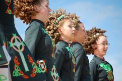 Young Irish Dancers Royalty Free Stock Image