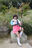 Young japanese cosplayer Stock Image