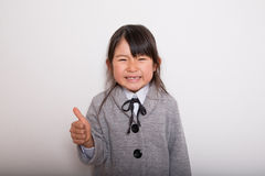 Young Japanese Student Royalty Free Stock Image