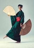Young japanese woman royalty free stock photo