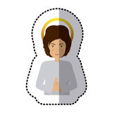 Young jesus christ. Icon vector illustration graphic design Stock Photography