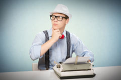 Young journalist Stock Photos
