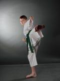 Young Karate Man. Stock Images
