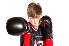 Young kickboxer Royalty Free Stock Image