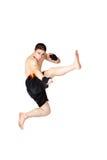 Young Kickboxer Stock Image