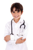 Young Kid Dressed As Doctor Stock Images