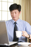 Young Korean businessman Royalty Free Stock Photography