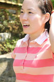 Young Korean woman Stock Images