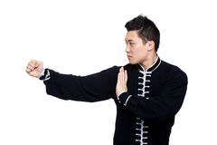 Young Kung Fu fighter Stock Photo
