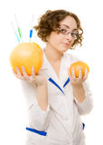 Young lab worker Royalty Free Stock Images