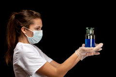 Young lab worker Royalty Free Stock Photos