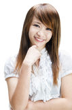 Young lady royalty free stock photography