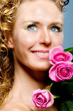 Young lady with Royalty Free Stock Photo