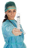 Young lady doctor Royalty Free Stock Photography