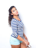Young Lady In Fun Summer Outfit Royalty Free Stock Photography