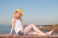 Young lady Royalty Free Stock Photos