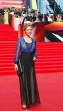 Anastasiya Ragozina at Moscow Film Festival Royalty Free Stock Image