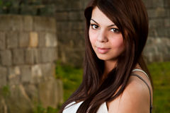Young lady Royalty Free Stock Photo