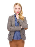 Young lady portrait Stock Photography