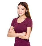 Young lady portrait Stock Photos