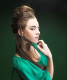 Young lady. Royalty Free Stock Images