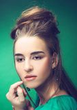 Young lady. Stock Images