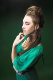 Young lady. Royalty Free Stock Photo