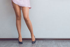 Young lady's legs Stock Photos