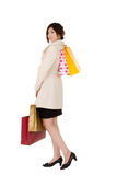Young lady shopping Royalty Free Stock Images
