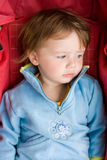 Young lady in the stroller. Stock Photo