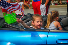 Young Lady. Taken in the 4th of July Parade Stock Photo