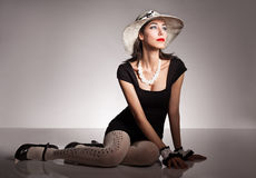 Fashion retro Royalty Free Stock Photo