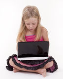 Young laptop user Stock Photos