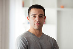 Young latin American man portrait Royalty Free Stock Photography
