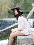 Young latin woman Stock Photo