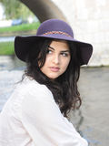Young latin woman Royalty Free Stock Photography