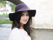 Young latin woman Royalty Free Stock Image