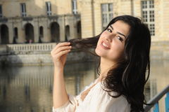Young latin woman Stock Images