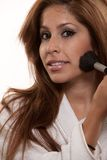 Young latina brunette woman Stock Photos