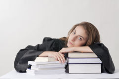 Young law school student Stock Image