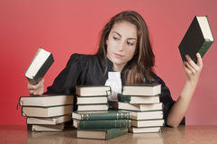 Young lawyer Stock Images