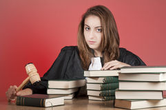 Young lawyer Royalty Free Stock Photo