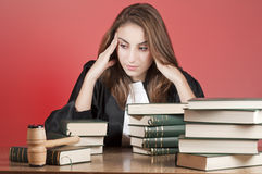 Young lawyer Royalty Free Stock Images